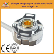 Hengxiang taper encoder DC Motor Encoer Incremental Hollow Shaft NPN output DC12V