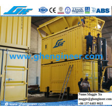 Grain Fertilizer Electric Bagging and Weighing Automatic Mobile Machine