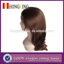 De boa qualidade peruca dianteira do laço com os golpes feitos em China
