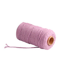 Corda de algodão colorido 100% natural 6mm 10mm 12mm