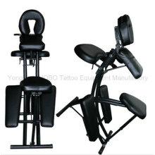 Accesorios baratos belleza portátil tipo silla de tatuaje para la fuente del estudio