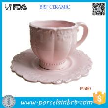 Classical Fancy Ceramic Breakfast Tea Cup Porcelain Mug