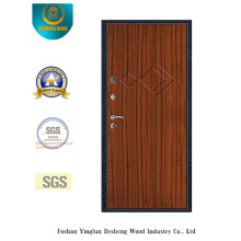Modern Style Security Steel Door with Steel Door Pocket (s-1012)
