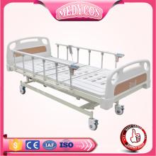 BDE221 3-Funktions-elektrisches medizinisches Bett mit Matratzenfuß durch ABS-Abdeckung