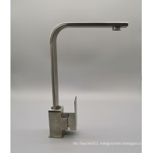 Factory New Type  Stainless steel wiredrawing  Hot and Cold mixer Kitchen Faucet