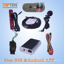 Suivi de GPS pour le véhicule avec le prix d'usine de la Chine, de haute qualité, arrêt de moteur (TK108-KW)