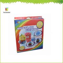 Muñecos de peluche borroso DIY juguetes, muñecas hechas a mano, muñeca
