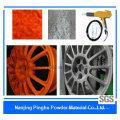 Оранжево-серое антикоррозионное порошковое покрытие