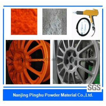 Naranja / Gris Anti-Corrosivo Thermoset Powder Coating
