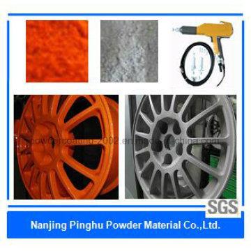 Revêtement en poudre thermodurcissable Anti-Corrosif Orange / Grey