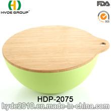 Organic BPA Free Bamboo Fiber Salad Bowl (HDP-2075)