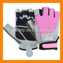 Señoras entrenamiento gimnasio levantamiento de pesas guantes de entrenamiento mujeres gimnasio guantes