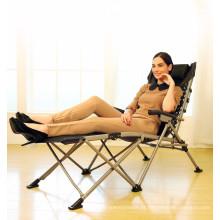 Cadeira de dobramento ajustável moderna do Daybed do escritório do balcão da praia do luxo