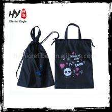 A venda quente calça sacos de compras, sacos de cordão para a eletrônica, sacos de poeira não tecidos do cordão