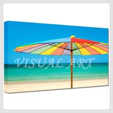 Impresión decorativa de la lona del paisaje de la playa de Tailandia del verano