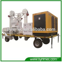 Seed Grain Bean Mobile Cleaning Processing Plant