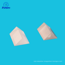 Offer Optical Glass triangular prism for reflecting and refraction Size 1052mmto 300mm
