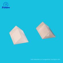 Oferta prisma triangular de vidro óptico para reflexão e refração Tamanho 1052mm a 300mm