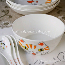 white ceramic fruit bowl high quality