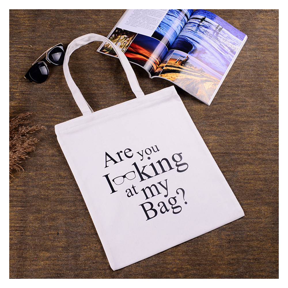 Personalized canvas handbag