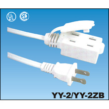 UL Approval American 2 Pin AC Power Cord Plug