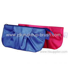Promotional Hot Sale Fabric Cosmetic Bag Blue And Red Color
