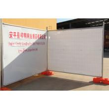 Au tipo popular galvanizado cerca de la temperatura temporal de la construcción de cercado con fábrica de China