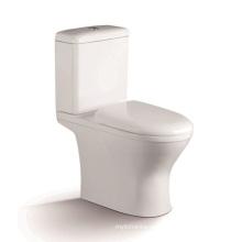 1207A WC de cerámica de dos piezas Siphonic