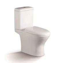Toilette en céramique siphonique à deux pièces 1207A