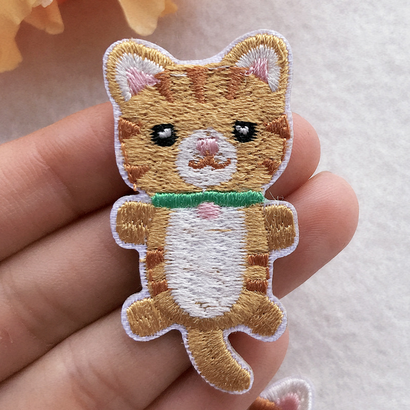 Cloth Cute Animal Embroidery
