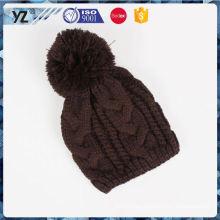 Nuevo sombrero de acrílico del knit del diseño del OEM de la llegada en venta