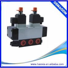 Serie K Válvula de cambio neumático de tipo pilar de 5/3 vías con alta calidad