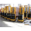 CE e certificado ISO Stacker Semi-Elétrica com serviços pós-venda
