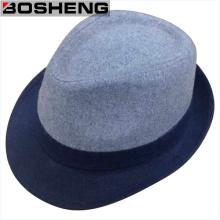 Gentleman moda chapéu de lã boné chapéu