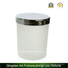 Günstige Scented Glas Jar Kerze mit Metalldeckel