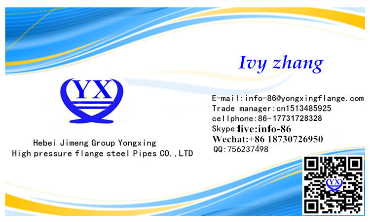 name card for gost flange