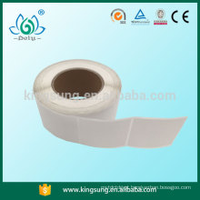 rótulo de rolo em branco para máquina de impressão de mesa