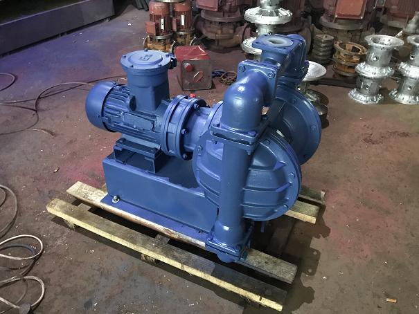 DBY explosion-proof lining fluorine electric diaphragm pump 2