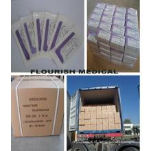 Boa qualidade O melhor preço sutura médica (PGA /, Pdo / Catgut // Silk Nylon Prolene ...