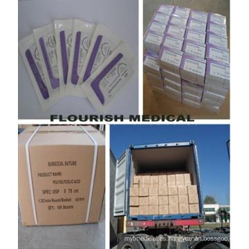 De Buena Calidad El mejor precio Sutura Médica (PGA /, Pdo / Catgut // Silk Nylon Prolene ...