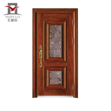 Feito na porcelana da porta de aço industrial moderna dos materiais de construção do portal principal
