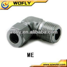 Hot sale Stainless Steel Male NPT Screw Male Elbow Tube Fittings