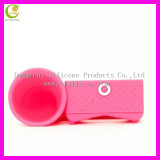 2017Wholesale most popular hot selling silicone mobile phone loud speaker for iphone 6/6S/7/7s