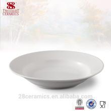 Fine vaisselle en céramique royale, assiettes de restaurant en gros pour les mariages