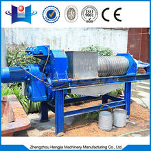 2014 popular industrial screw press juice extractor