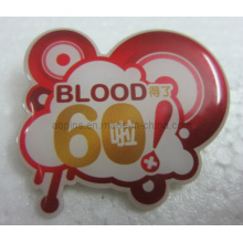 Cartoon Offset Printing Brooch Lapel Pin with Epoxy (badge-108)