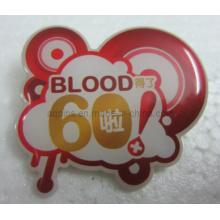 Desenho animado offset broche de lapela pin com epóxi (badge-108)