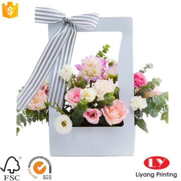 Caixa de embalagem de flor quente de papel de presente de vendas