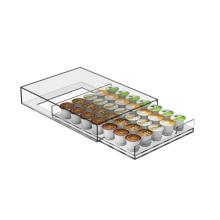 Clear Single Serve Coffee Pod Storage Drawer