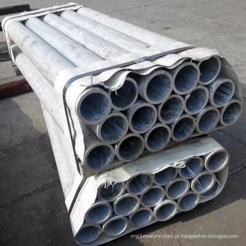 Tubo redondo de liga de alumínio 2A12, tubo de alumínio extrudido